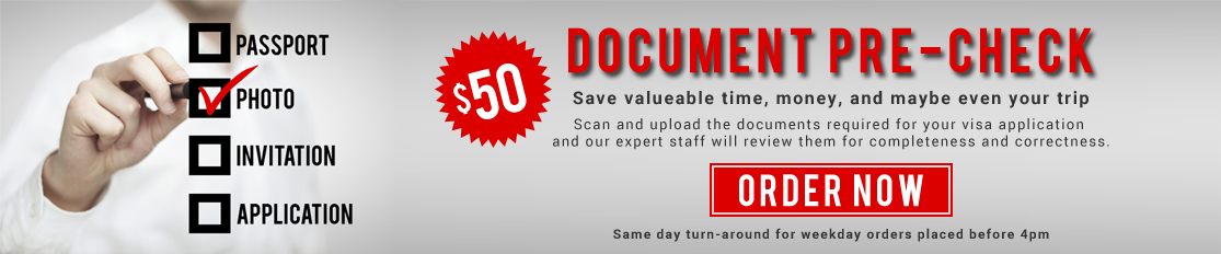 Save valueable time and money with Document Pre-Check!