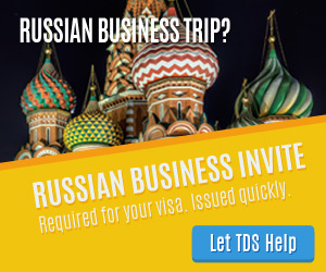 Let TDS help get your Russian Business Invitation