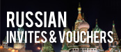 Russian Business Invitations and Tourist Vouchers