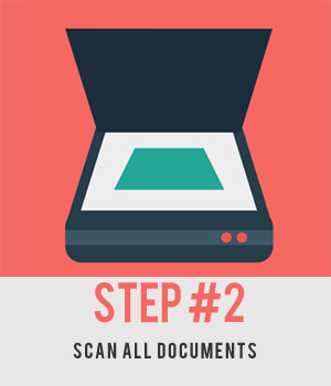 Step #2 - Scan All Documents
