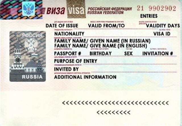 Russian Visa Processing Time Change