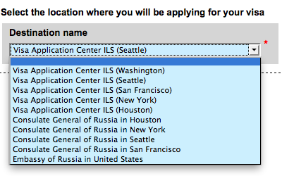 Russia Transit Visa for U S  Citizens | Russian Transit Visa WA